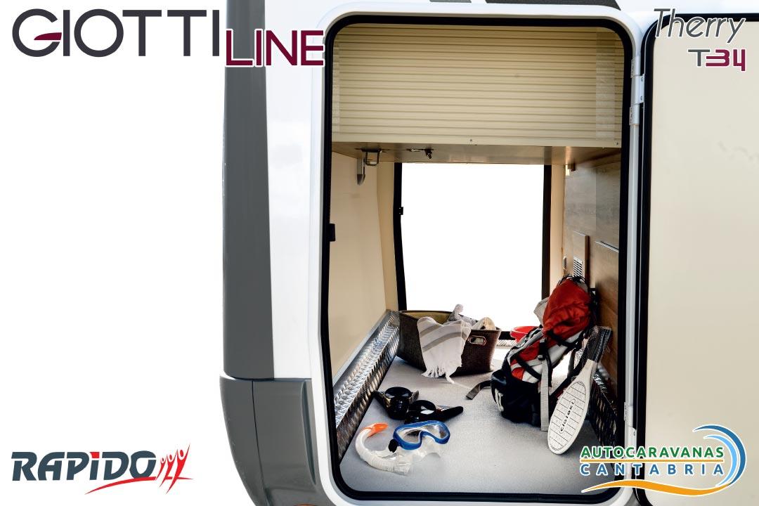 Autocaravana GiottiLine Therry T34 2021 garaje