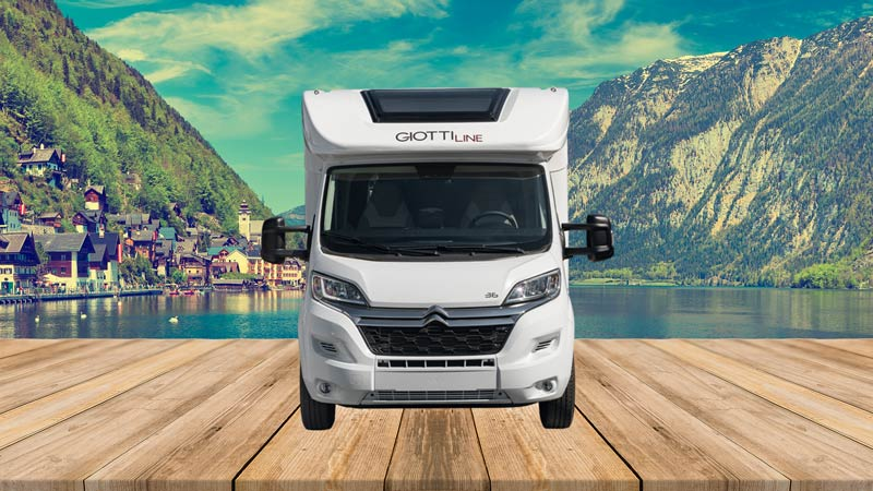 Autocaravana GiottiLine Therry T36 2021 frontal