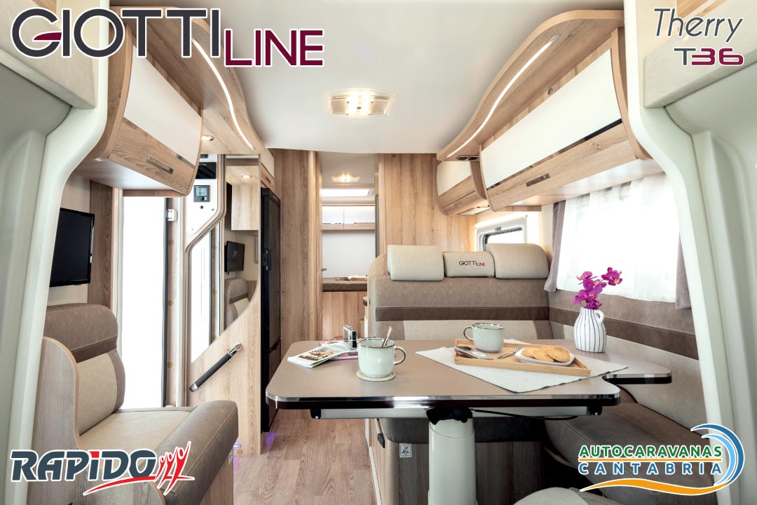 Autocaravana GiottiLine Therry T36 2021 interior