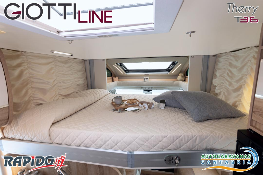 Autocaravana GiottiLine Therry T36 2021 cama abatible
