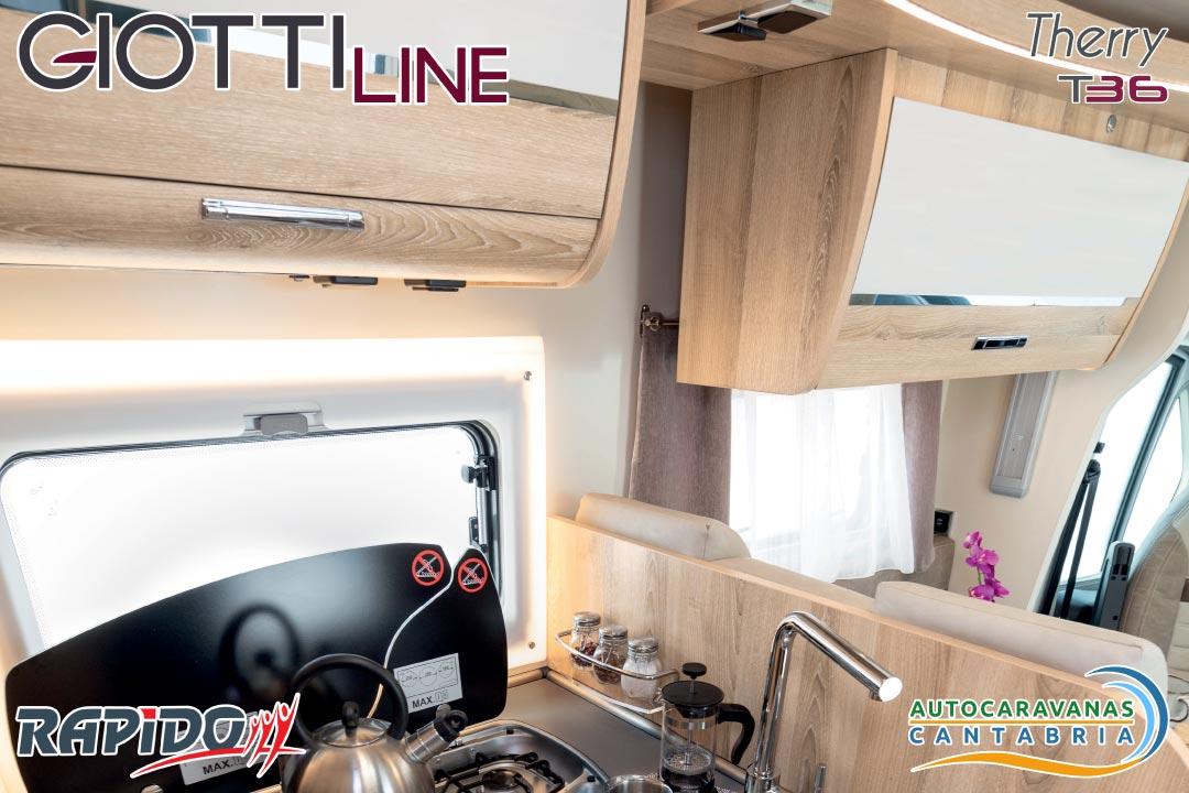 Autocaravana GiottiLine Therry T36 2021 cocina