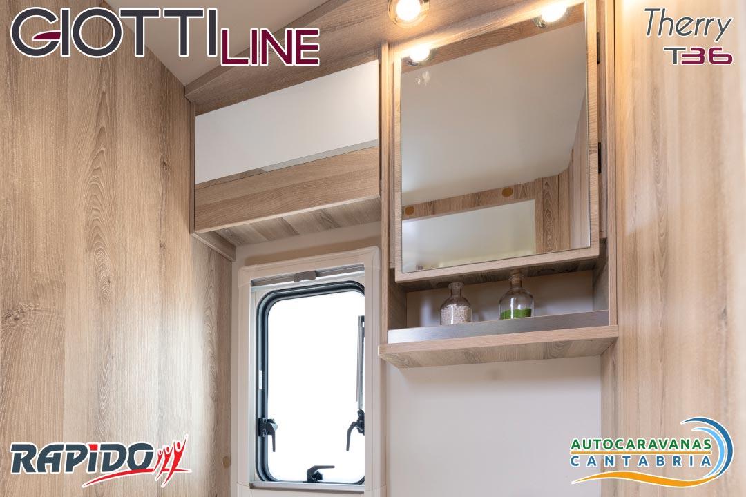 Autocaravana GiottiLine Therry T36 2021 aseo