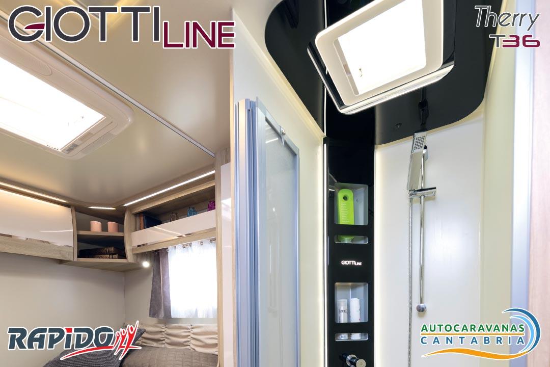 Autocaravana GiottiLine Therry T36 2021 ducha