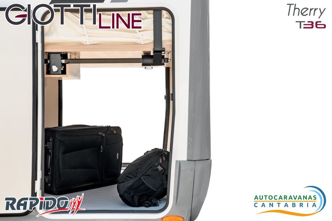 Autocaravana GiottiLine Therry T36 2021 garaje