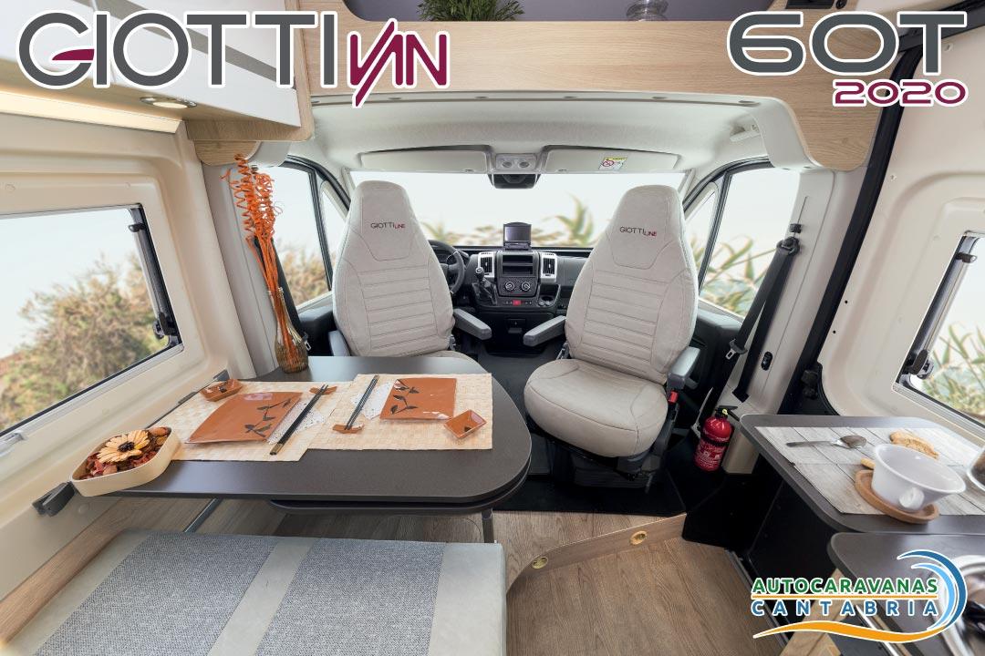 GiottiVan 60T 2020 comedor