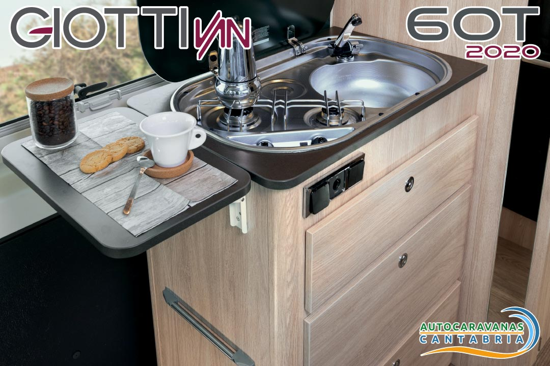 GiottiVan 60T 2020 cocina